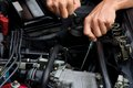 Professional car mechanic Royalty Free Stock Images
