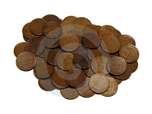 Wheat Pennies Stock Photos - Image: 322473
