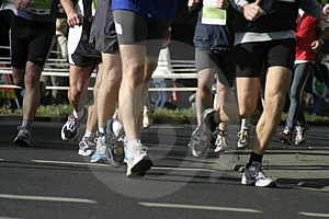 Marathon Stock Photography