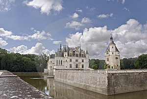 Chateau Chenonceau, France Stock Photo - Image: 3209390