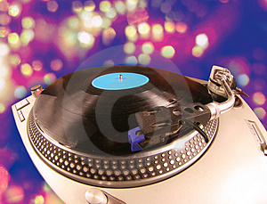 Fisheye Turntable Royalty Free Stock Photography - Image: 3209567