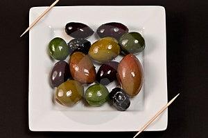 Olive Medley Royalty Free Stock Image - Image: 3210296
