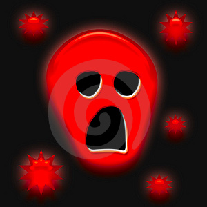 Halloween Spooky Face Stock Images - Image: 3217224