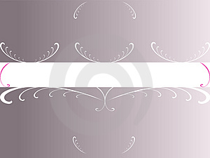 Grey Foral Copyspace Royalty Free Stock Photography - Image: 3217437
