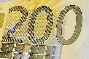 Euro Duecento Immagini Stock Libere da Diritti - Immagine: 3220469