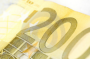 Two Hundred Euro Royalty Free Stock Photo - Image: 3220505
