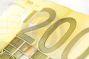 Dois Cem Euro Foto de Stock Royalty Free - Imagem: 3220505