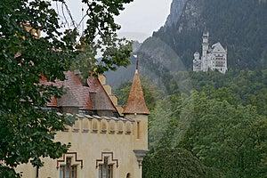 Schloss Neuschwanstein Stock Images - Image: 3225234