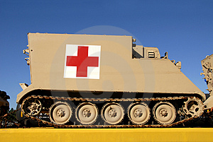 Armoured Medical Vehicle Stock Photo - Image: 3237780