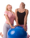 Fitness girls Stock Photography