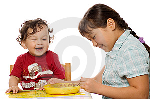 A Tasty Porridge. Stock Image - Image: 3241061