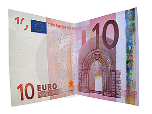 Money Currency Euro Isolated Royalty Free Stock Photography - Image: 3254207