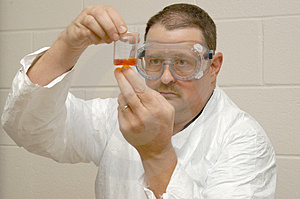Forensic Scientist. Stock Photos - Image: 3269663