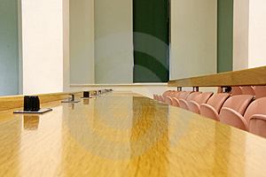 Conference Room Seat Row Stock Images