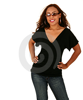 Fashion Shot Of Beautiful Woma Royalty Free Stock Photo - Image: 3269875