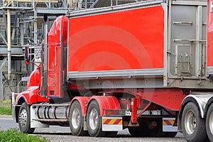 Semi truck Free Stock Photos