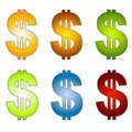 Dollar Signs Money Clip Art 2