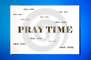 Pray Time Stock Images - Image: 32768444