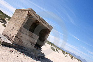 Ruins At An Angle Royalty Free Stock Photos - Image: 3283728