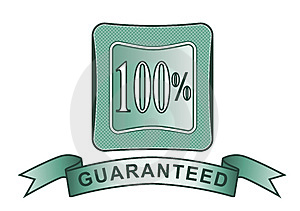 Crest 100% Guaranteed Stock Photography - Image: 3284522