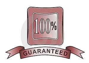 Rosso Garantito 100% Della Cresta Fotografia Stock - Immagine: 3284530