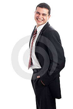 Handsome Businessman Stock Photos - Image: 3291663