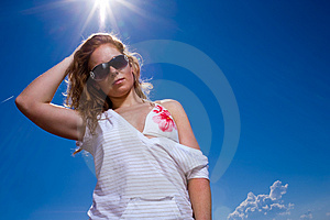 Casual Summer Royalty Free Stock Photo - Image: 3296405