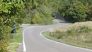 Winding Road Royalty Free Stock Image - Image: 3300626