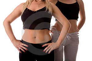 Fitness body Stock Photos