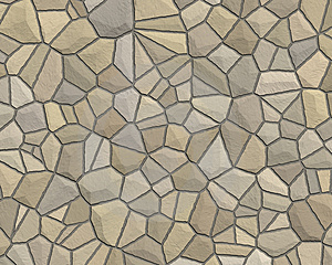 Stone Wall Pattern Tan Grey Stock Images - Image: 3306074