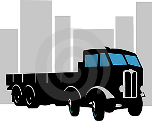 Heavy Goods Vehicle Royalty Free Stock Images - Image: 3309599