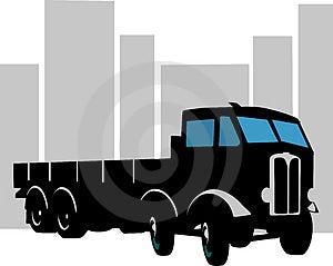 Heavy Goods Vehicle Royalty Free Stock Images - Image: 3309599