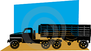 Heavy Goods Vehicle Royalty Free Stock Images - Image: 3309649