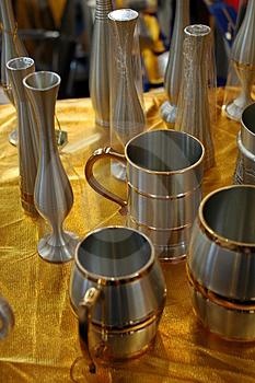 Récipients De Bidon Images stock - Image: 3320554