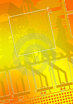 Printed Circuit Board Stock Photo - Image: 3326930
