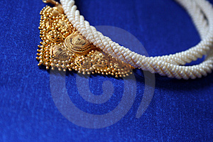 Gold And Pearl Jewellery Stock Image - Image: 3329771