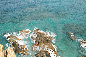 Cliff View Stock Photography - Image: 3332992