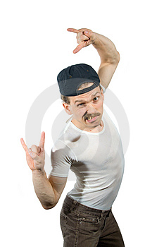 Tough Guy Royalty Free Stock Photography - Image: 3344387