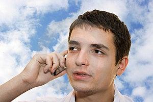 Jeune Homme Images libres de droits - Image: 3347549