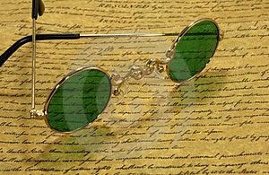 Vintage Eyeglasses Stock Images - Image: 3352064
