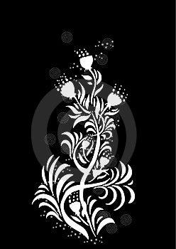 Diseño Floral Del Elemento Fotografía de archivo libre de regalías - Imagen: 3367617