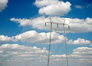 Pylon 17 Royalty Free Stock Images - Image: 3367869