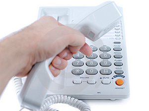 Let's Call Someone Stock Photo - Image: 3370180
