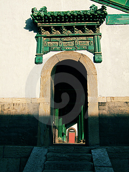 Door Of Opera Stage Royalty Free Stock Photography - Image: 3382817
