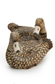 Wooden Ducks Stock Images - Image: 342504