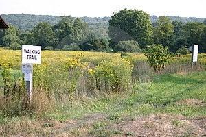 Walking Trail Stock Image - Image: 348031