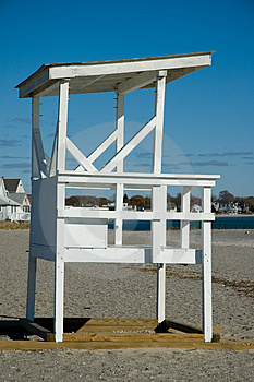 Beach Lifeguard Station - Vacant Stock Images - Image: 348524