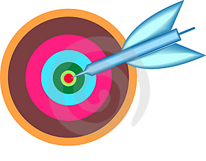 Target Point Royalty Free Stock Photography - Image: 3428727