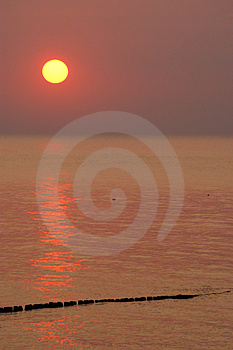 Sunset In Poland Stock Image - Image: 3431071