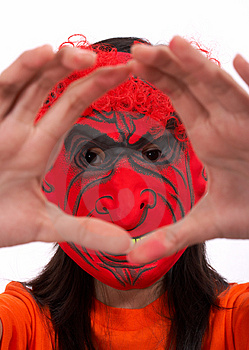 Scary Mask Royalty Free Stock Images - Image: 3447559
